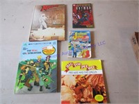 PEE WEE HERMAN & OTHER BOOKS
