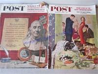 POST MAGAZINES 1957