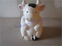 HOLSTEIN COW COOKIE JAR