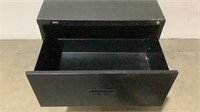 Staples 2 Drawer Lateral Filing Cabinet