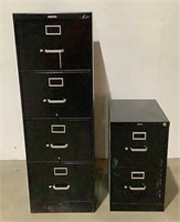 (2) Filing Cabinets
