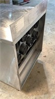 Stainless Steel Cup Dispensing Table
