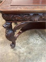 HORNER WINGED GRIFFEN LIBRARY TABLE