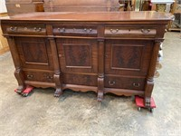 EX LARGE 19TH CENTURY SIDEBOARD