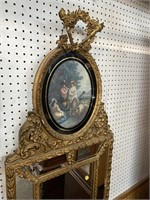 FRENCH PICTORIAL MIRROR