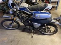 Honda Elsinore MT125 motorcycle has been sitting