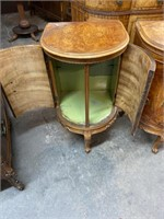 PR OF SATINWOOD FRENCH STANDS