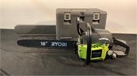 "Ryobi 18"" 2 Cycle Gas Chainsaw RY3818"