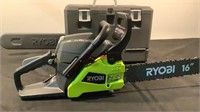 "Ryobi 16"" 2 Cycle Gas Chainsaw RY3716"