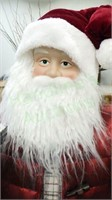 Large polymer Santa figure stand 3 feet tall!