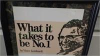 Inspirational Vince Lombardi wall art!