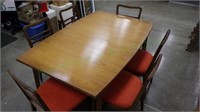 Vintage Watertown Table Slide Co. Dining Set