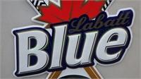 Labatt Blue bar back advertising piece!