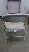 Lot of vintage MECO folding chairs