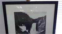 Ansel Adams - Yellowstone Falls - art print!
