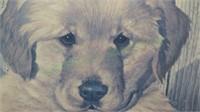 Signed Marlowe Urdahl Budweiser & Puppies art!
