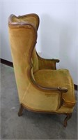 Vintage wing-back chair from Statesville Chair Co.