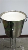 Bedside champagne ice bucket with frame!