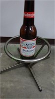 Budweiser bar stool - perfect for the man cave!