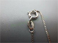Sterling silver filigree cross pendant & necklace!