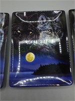 "Limited edition ""Eyes of Night"" wolf art plates!"