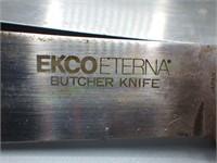 Lot of 4 Ecko Eterna stainless kitchen knives!