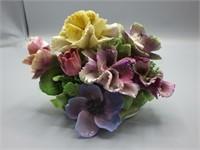 Coalport spring blossom ceramic floral artwork!