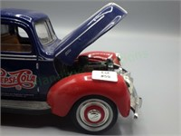 Vintage die cast 1940 Ford Pepsi-Cola truck!