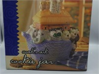 New in the box Noah's Ark cookie jar!