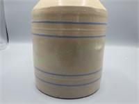 Antique stoneware moonshine handled jug!