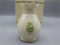 Beautiful Donegal Parian porcelain vase!