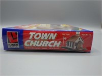 Town Church for HO scale train sets!