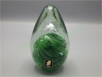 Glass paperweight by Kerry Glass of Ireland!