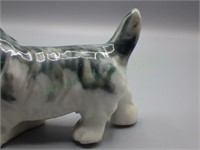 Handcrafted & hand-painted terrier figurine!