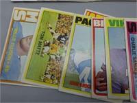1972 Topps football card lot!