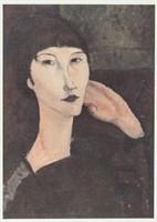 Amedeo Modigliani Italian Signed Litho 22/100