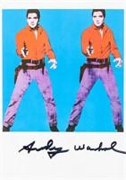 Andy Warhol American Color Offset Litho Postcard