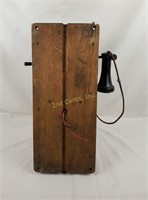 Antique Western Electric Hand Crank Wall Phone