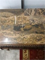 Marble Top  Nightstand 28x27