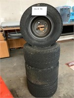 4 tires and rims 18x8.50