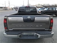2004 Nissan Frontier 4x4 Ext Cab