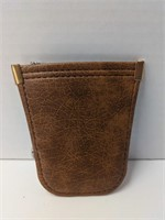 Small Railway Employes' Department leather