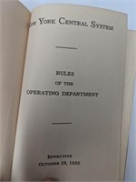 New York Central system Rules of the Operating