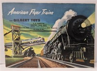 1952 American Flyer Trains and Gilbert Toys
