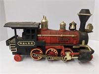 W.&A.R.R. Great western model train and tracks.