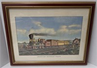American Express Train 1855 Currier & Ives