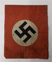Small WWII German flag. About 7in x 8.25in