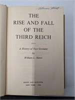 The rise and Fall of the Third Reich copyright