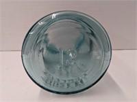 #13 Ball Perfect mason blue glass jar. 5.25in
