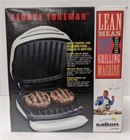 George Foreman Lean Mean fat reducing grilling